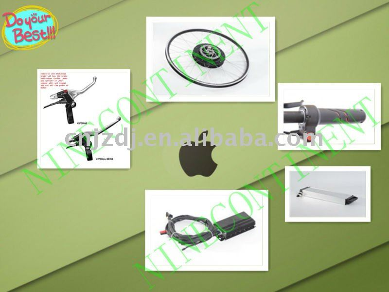 Plug in drive system electric bicycle kits.electric bike motor kits,conversion kits