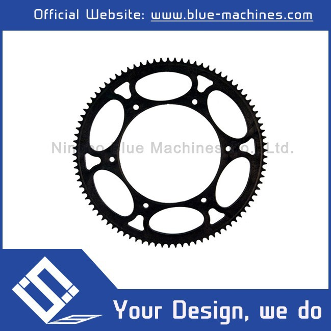 High Efficiency Motorcycle Sprocket Chain Set