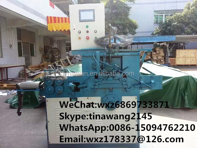 Factory automatic clothes used PVC wire hanger machine WhatsApp:0086-15094762210