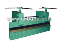 M&B HAND OPERATED SHEET METAL BENDING FOLDING MACHINE