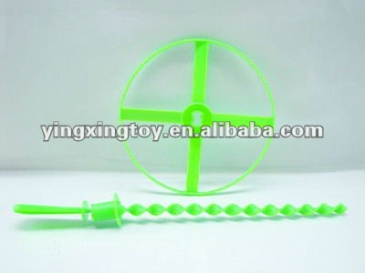 plastic promotional kid toy flying disk