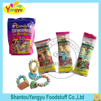 Best gift for kids milk flavor bracelet accessory funny roll candy