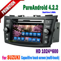 2 din android gps caska car radio suzuki swift dvd