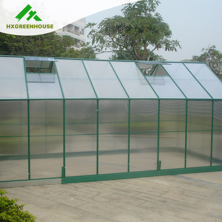 new invented prefabricated tunnel greenhouse HX65128G-1