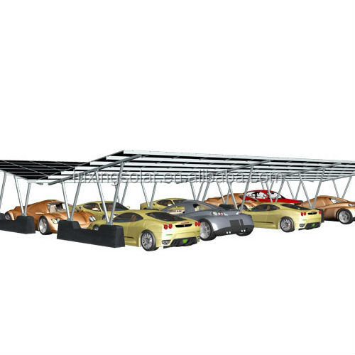 FS-CR-AW02 Carport Racking System for solar carport mounting solution