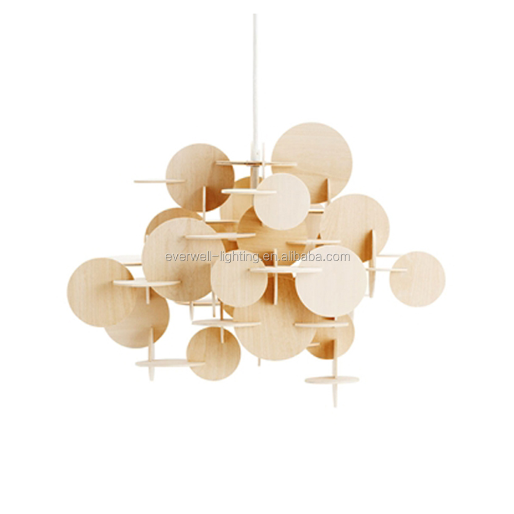 wood contemporary pendants lighting modern ceiling lights