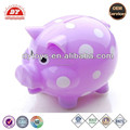 High quality different shape plastic toy money bank