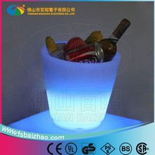 rgb plastic 16 colors led superior beer cooler