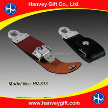 Elegant Leather USB Flash Drive 1GB 2GB 4GB 8GB 16GB 32GB usb disk as gift