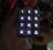 fast production and delivery metal numeric keypad