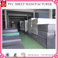 China Lead Free Extruded PVC Grey Sheet /hard rigid board
