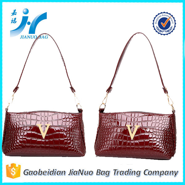 Leather dragonfly fashion genuine leather handbags used ladies handbags