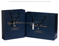 Professional Custom Luxury Paper Shopping Bag With Handles