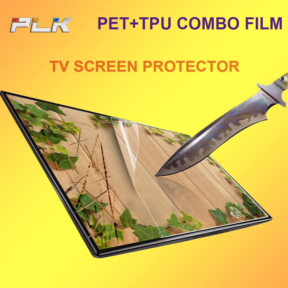 Anti-Static Anti Shock High Clear Mobile Phone LCD TV Screen Protector