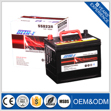 BETN-I 12v 55ah battery 55D23R MF Car Battery In Stock