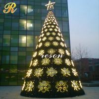 Outdoor big christmas tree toppers stars