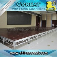 Guanghzou event outdoor Aluminum Stage for sale