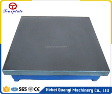 Cast Iron Surface Plate for Flatness Measuring Tools Large Size Hot Rolled High Precision