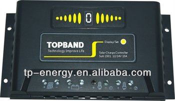 15A solar charge controller for lithium battery 1001 12/24V