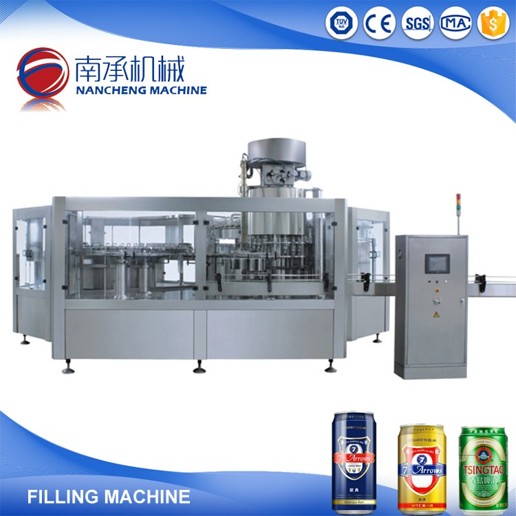 Automatic Aluminum Can Beer Canning Machine Production Line