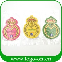Promotion Custom Hanging Custom Paper Car Air Freshener