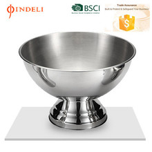 2016 mega size stainless steel single wall large champagne ice bucket