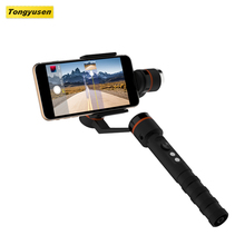 360 degree rotation panoramic photography shooting face tracking 3 axis gimbal handheld stabilizer for smartphone camera
