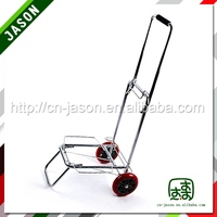 Pooyo chrome plated hand trolley luggage 55ZD-PU
