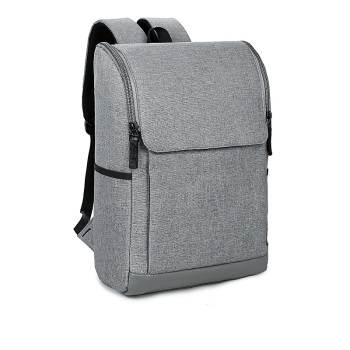 elegant gray laptop backpack outdoor for travel and daily use