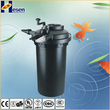 High Quality Garden Effective Pond Filter with UV clarifier