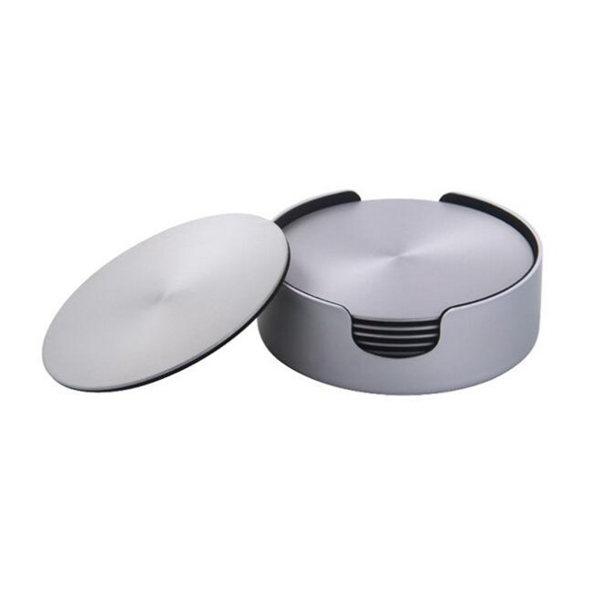 Aluminum Coaster Set Tea Cup mat A Set of Coasters