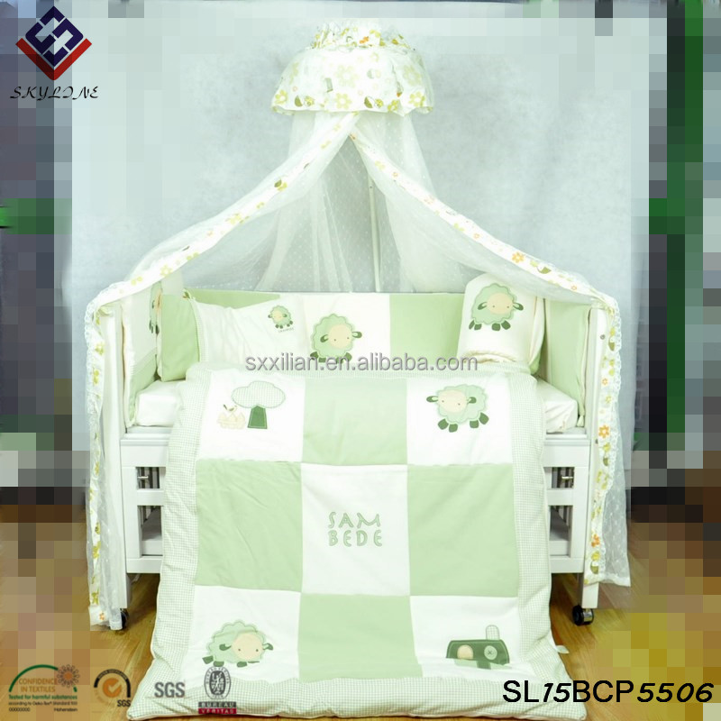 2015 new arrivel'baby bedding sets baby crib beddings