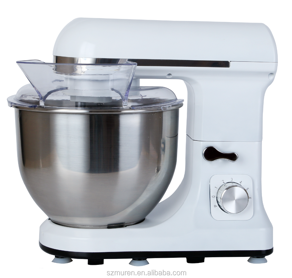 Best Quality Electric Bakery Machines With 5L Stainless Steel Mixing Bowl