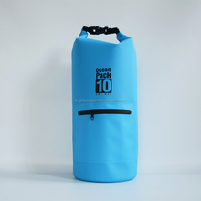 Premium 600D PVC Collapsible Dry Bag Waterproof Roll Top Dry Stuff Sack