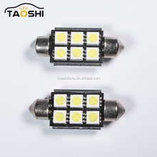 12V Dome 8 Smd Led Festoon Sv8.5 Car Auto Standard Light Bulb
