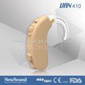 Powerful sound Amplifier Digital BTE Beige Hearing Aid for severe to profound hearing loss