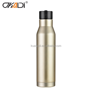Beautiful Design 6oz 304 stainless steel sports bottle vacuum hip flask