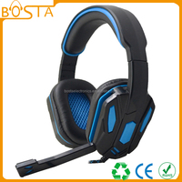 Super cheap multi-functional fancy stylish 5.1 channel gaming headsets 2016