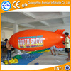 4m Long cheap inflatable helium airplane balloon, inflatable zeppelin helium balloon