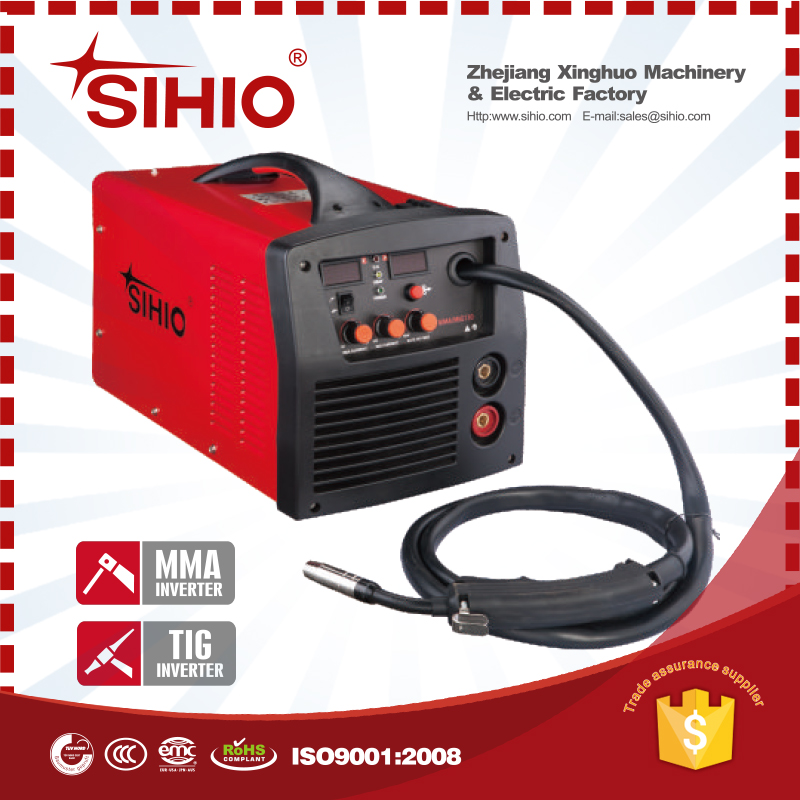 HOT SELL quality MIG130 MIG175 thermocouple inverter mig welder