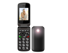 vkworld Diamond Z2 - Big Horn Handphone Flip Open Big Keyboard 2.4 inch TFT Color Display Low Price China Mobile Phone