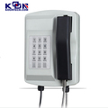 Emergency Assistance Waterproof Telephone KNSP-18 Surface Mount IP Video Call Station public phonesfor Bank telephone