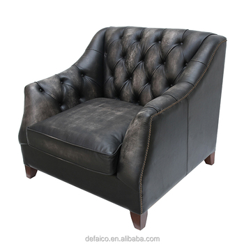 Retro Black Leather Chesterfield Sofa Sets Furniture - Buy Leather  Furniture,Leather Sofa Sets,Chesterfield Sofa Sets Product on Alibaba.com