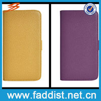 leather flip case for samsung galaxy note 2 wallet cover case
