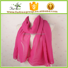 pure purple scarf solid chiffon female scarfs long summer shawls wraps