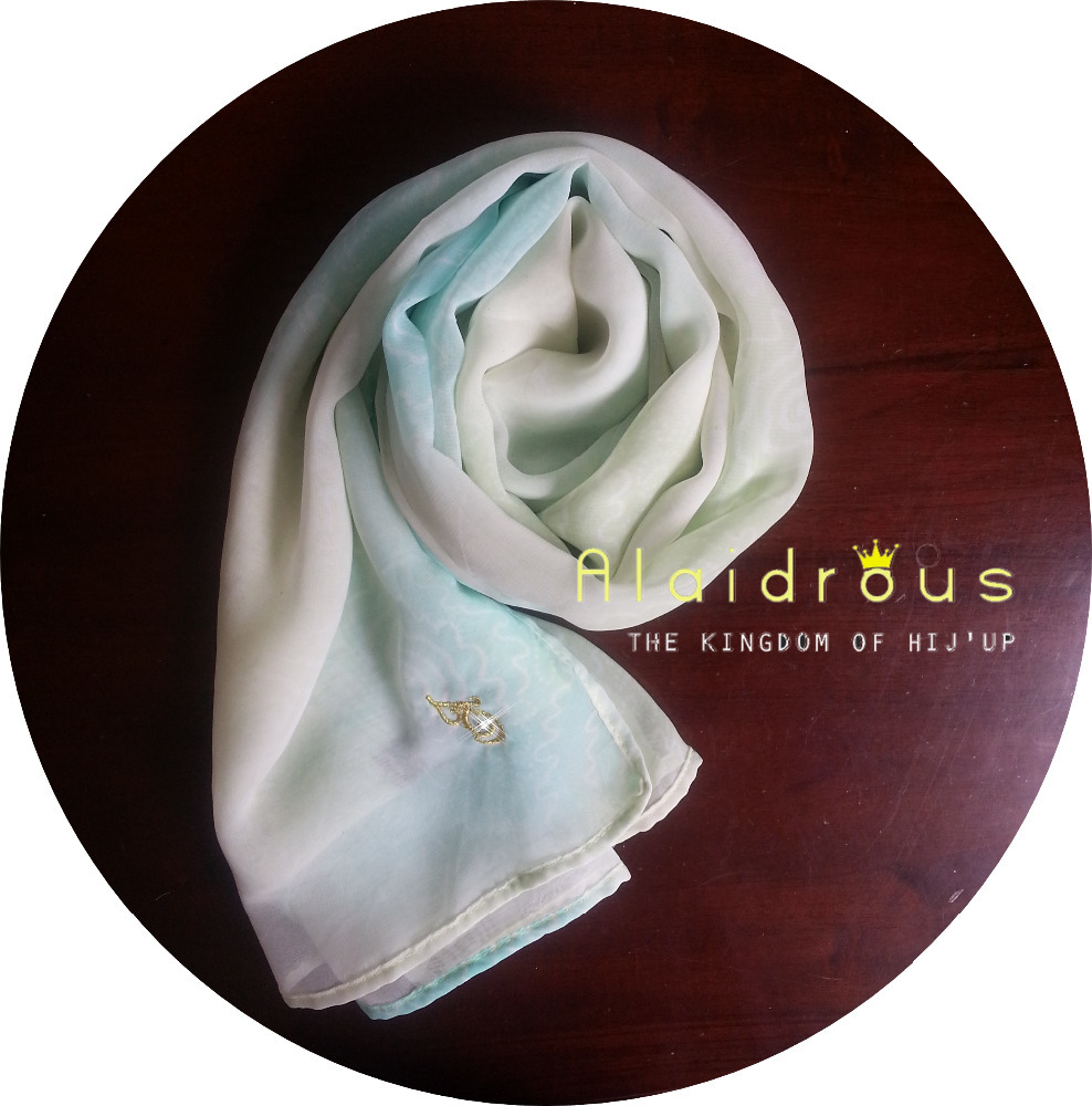 Mirvat the Ultimate Chiffon Square Scarf