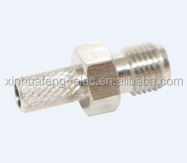 zhenjiang SMA female crimp type RF Coax Adapter connector
