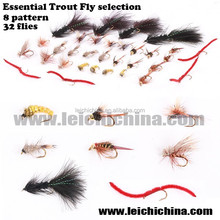 China fly fishing flies hand tied trout flies