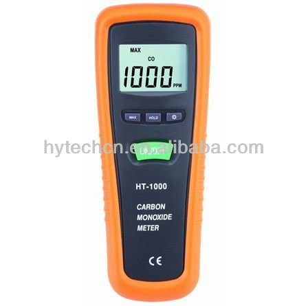 'HT-1000' Portable personal LCD display CO gas detector;portable co detector;personal co detector with factory cheapest price