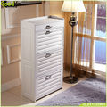 White cabinet superior PVC shoe rack Living Room Furniture